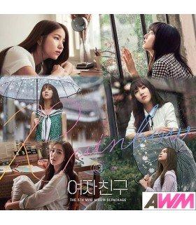 GFRIEND (여자친구) Mini Album Vol. 5 repackage - Rainbow (édition coréenne)