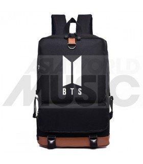 BTS - Sac à dos padded - BTS NEW LOGO (Black)