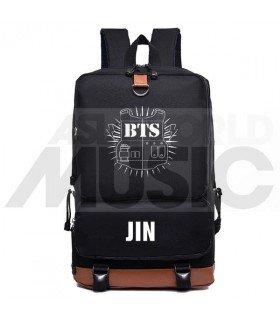 BTS - Sac à dos padded - BULLETPROOF JIN (Black)