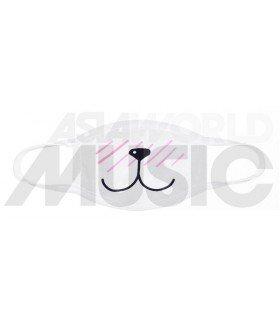 Masque SHY PUPPY (White)