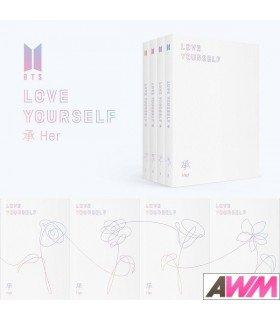 BTS (방탄소년단) Mini Album Vol. 5 - LOVE YOURSELF 'Her' (édition coréenne)