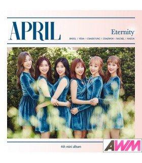 APRIL (에이프릴) Mini Album Vol. 4 - Eternity (édition coréenne)