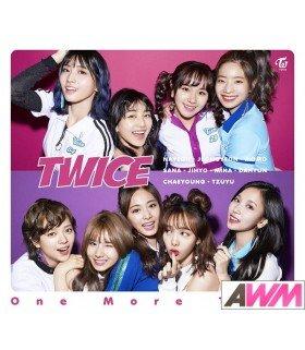 TWICE - One More Time (Type B / SINGLE+DVD) (édition limitée japonaise)