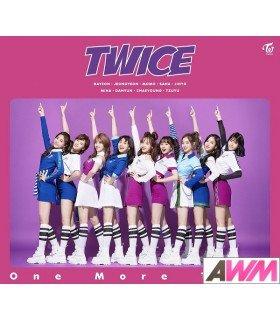 TWICE - One More Time (Type A / SINGLE+DVD) (édition limitée japonaise)