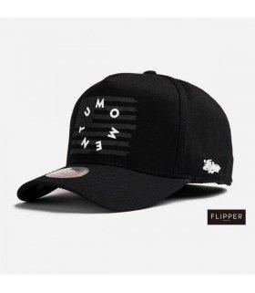 Casquette Baseball D MOMENTUM (BLACK) (FLIPPER)