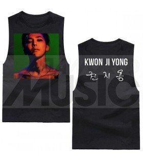 G-Dragon - Débardeur KWON JI YONG (Type A / Black)