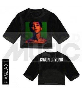 G-Dragon - Crop top KWON JI YONG (Black) (FAREAST)