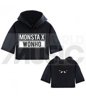 Monsta X - Sweat à capuche court WONHO
