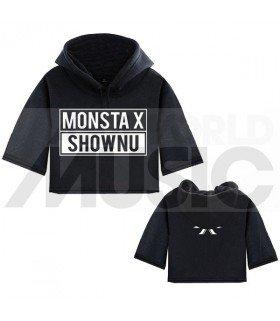 Monsta X - Sweat à capuche court SHOWNU