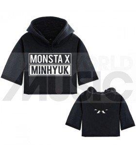 Monsta X - Sweat à capuche court MINHYUK