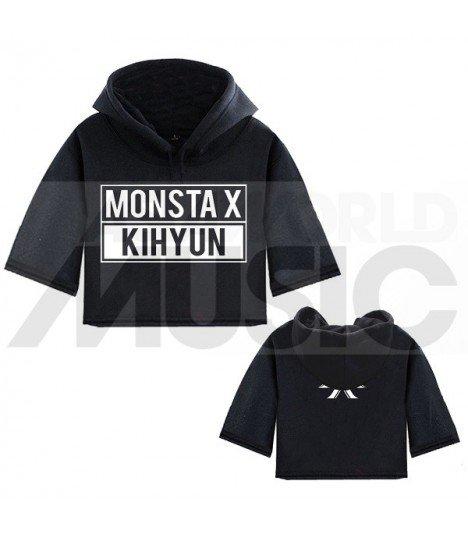 Monsta X - Sweat à capuche court KIHYUN