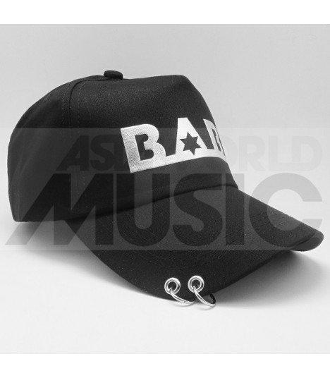 B.A.P - Casquette noire avec anneaux - BABY
