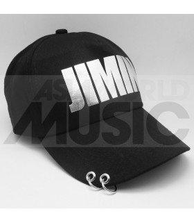 BTS - Casquette noire avec anneaux - JIMIN