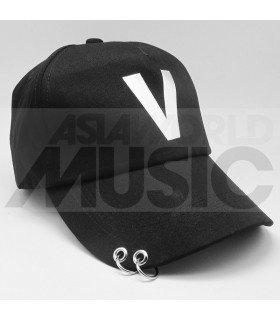 BTS - Casquette noire avec anneaux - V