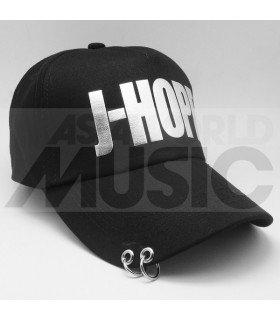 BTS - Casquette noire avec anneaux - J-HOPE