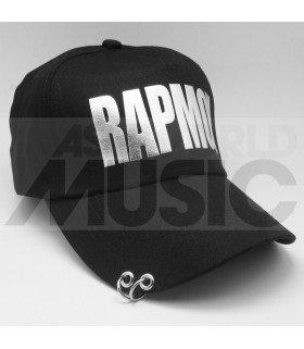 BTS - Casquette noire avec anneaux - RAPMON