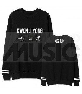 G-Dragon - Sweat KWON JI YONG (Black / Coupe unisexe)