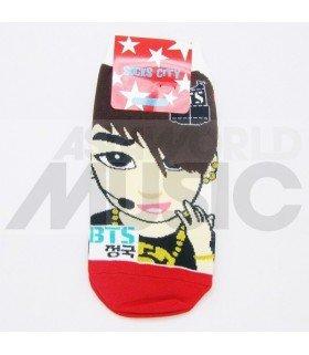 BTS - Socquettes COMEBACK SHOW - Jungkook