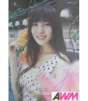 Affiche officielle GFRIEND - Rainbow (Poster YUJU)
