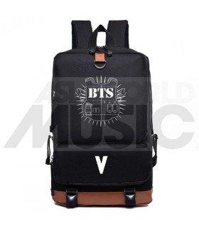 BTS - Sac à dos padded - BULLETPROOF V (Black)