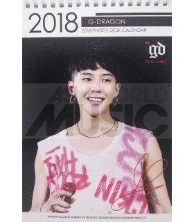 G-Dragon (BIGBANG) - Calendrier de bureau 2018 / 2019 (Type B)