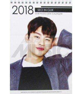 Seo In Guk - Calendrier de bureau 2018 / 2019 (Type A)