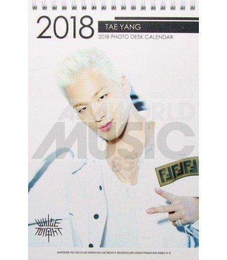 TAEYANG (BIGBANG) - Calendrier de bureau 2018 / 2019 (Type A)