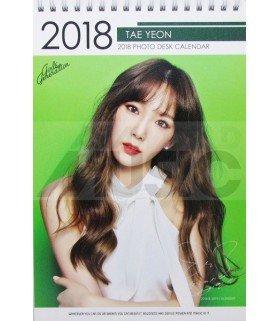 Taeyeon (Girls' Generation) - Calendrier de bureau 2018 / 2019 (Type B)