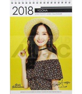 YoonA (Girls' Generation) - Calendrier de bureau 2018 / 2019 (Type A)