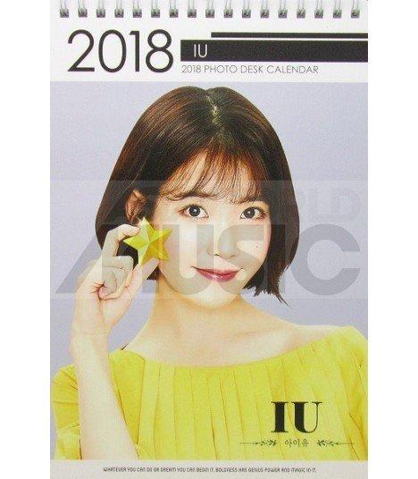 IU (아이유) - Calendrier de bureau 2018 / 2019 (Type B)
