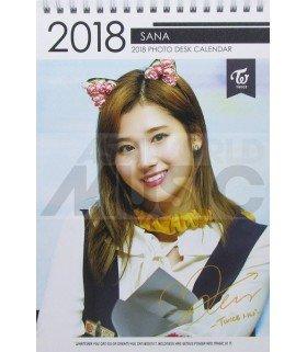 Sana (TWICE) - Calendrier de bureau 2018 / 2019 (Type B)