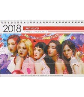 Red Velvet - Calendrier de bureau 2018 / 2019 (Type B)