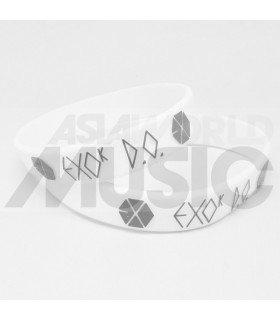 EXO - Bracelet Fashion 3D - MAMA D.O. (WHITE / GREY)