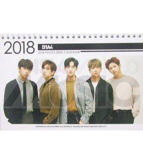 B1A4 - Calendrier de bureau 2018 / 2019 (Type A)