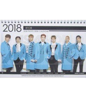 BTOB - Calendrier de bureau 2018 / 2019 (Type B)