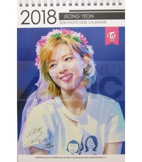 Jeong Yeon (TWICE) - Calendrier de bureau 2018 / 2019 (Type A)