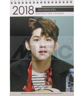 Ong Seong Woo (WANNA ONE) - Calendrier de bureau 2018 / 2019 (Type A)