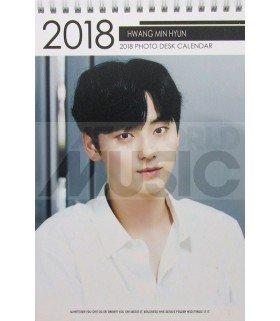 Hwang Min Hyun (WANNA ONE) - Calendrier de bureau 2018 / 2019 (Type A)