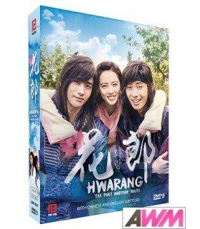Hwarang (화랑) Coffret Drama Intégrale (5DVD) (Import)