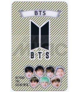 BTS - Carte transparente LOGO 001