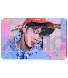 BTS - Carte transparente JIN (LOVE YOURSELF HER / VERSION V)