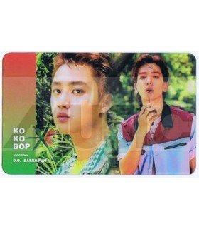 EXO - Carte transparente D.O. X BAEKHYUN (THE WAR)