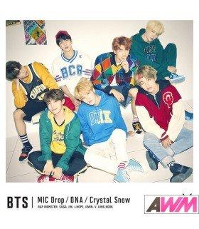 BTS (防弾少年団) MIC Drop / DNA / Crystal Snow (Type C / SINGLE+PHOTOBOOK) (édition limitée japonaise)