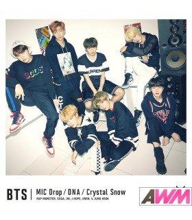 BTS (防弾少年団) MIC Drop / DNA / Crystal Snow (Type B / SINGLE+DVD) (édition limitée japonaise)