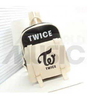 TWICE - Sac à dos femme TWICE LOGO (BLACK)