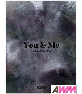 KARD (카드) Mini Album Vol. 2 - YOU & ME (édition coréenne)