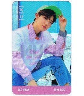 WANNA ONE - Carte transparente KIM JAE HWAN (TO BE ONE / VERSION PINK)