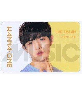 WANNA ONE - Carte transparente KIM JAE HWAN (ID CARD)
