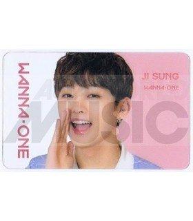 WANNA ONE - Carte transparente YOON JI SUNG (ID CARD)