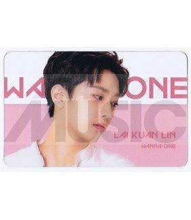 WANNA ONE - Carte transparente LAI KUAN LIN (ID CARD)